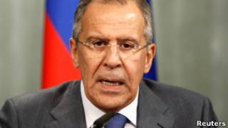 Sergei Lavrov. Reuters