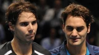 Nadal da Federer