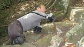 Kyle Maynard durante treinamento, em outubro (foto: Mission Kilimanjaro)