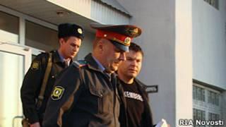 Взятие Сергея Цапка под стражу