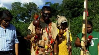 Indios Kaiowá no Mato grosso do Sul. | Foto: BBC