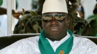 Shugaba Yahya Jammeh na Gambia