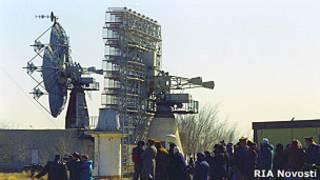 Радары на космодроме Байконур