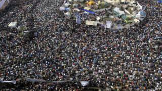 Unjuk rasa di Lapangan Tahrir, Kairo