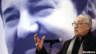 Анджей Вайда на пресс-конференции