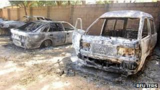 سيارات مدمرة