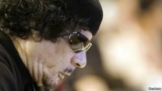 معمر قذافی، رهبر سابق لیبی
