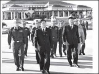 မြန်မာအဆင့်မြင့် ကိုယ်စားလှယ်အဖွဲ့ တရုတ်သို့ထွက်ခွာ