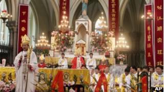 中國天主教會