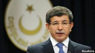 احمد داوود اوغلو، وزیر امور خارجه ترکیه