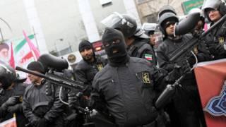 نیروهای بسیجی