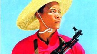 Ông Ngô Tiên Phong trên bìa tạp chí quân đội tháng 10/1974