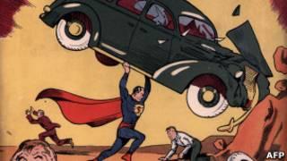 Обложка журнала комиксов о Супермене