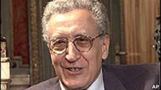 الاحضر ابراهیمی، نماینده سابق سازمان ملل برای افغانستان