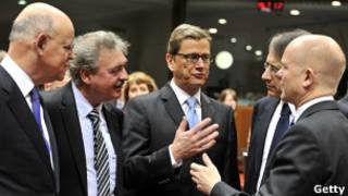 وزرای امور خارجه اتحادیه اروپا