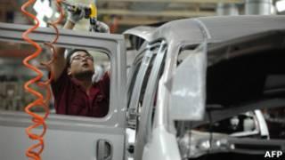 Сборка машин в Китае