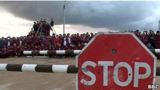 Забастовка на западе Казахстана