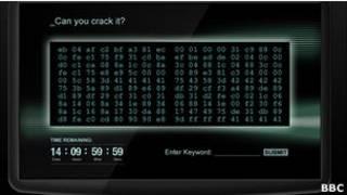 Сайт с шифром