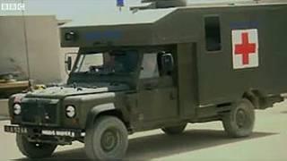 ambulancia militar