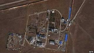 Base militar perto de Teerã ficou destruída depois de explosão em novembro (AFP/Getty)