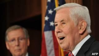 O senador Richard Lugar. | Foto: AFP