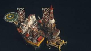 سکوی نفتی ایران