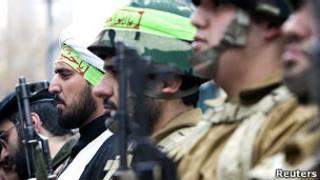 """Бойцы иранской военизированной организации """"Басидж"""""""