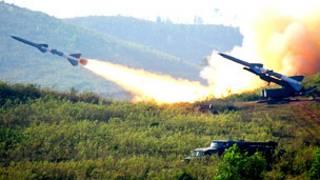 Việt Nam diễn tập bắn đạn thật