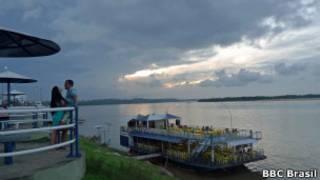 Orla de Marabá, no Pará, onde população votará pela divisão ou não do território (Foto: João Fellet/BBC Brasil)