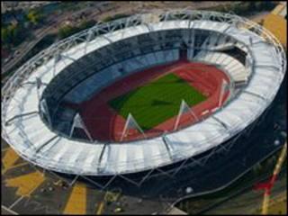 伦敦奥运主场馆