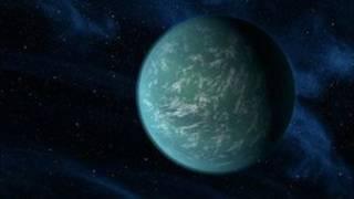 تصویر ساختگی از سیاره کشف شده