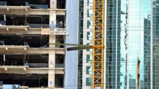 Công trường xây dựng ở Jakarta, Indonesia