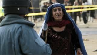 Wata mata a kidime, bayan harin da aka kai a Kabul