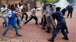 Manifestation de l'opposition