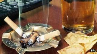 سیگار، آبجو، کنترل