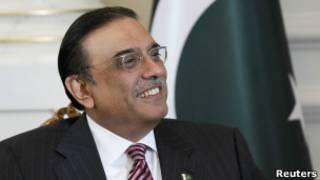 पाकिस्तानी राष्ट्रपति आसिफ़ अली ज़रदारी