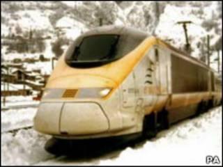欧洲之星列车