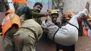 Пожар в больнице Калькутты
