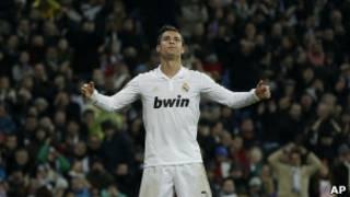 Cristiano Ronaldo của Real Madrid