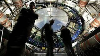 Experimento Atlas para buscar la partícula de Higgs.