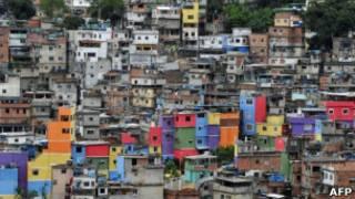 Vista da Rocinha, em foto de 6 de dezembro (AFP)