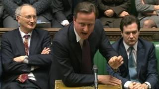 Praministan Birtaniya David Cameron