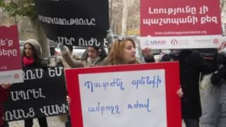 protest in Armenia