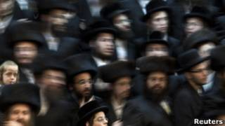 یهودیان بنیادگرا در بیت المقدس (عکس تزئینی)