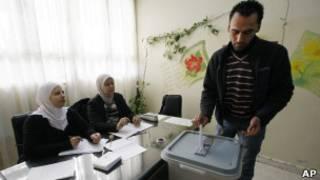 تصويت في دمشق