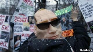 Во время митинга на Болотной площади в Москве