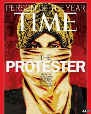 Протестующий - человек года