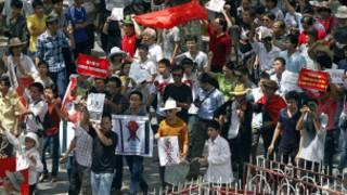 Biểu tình chống Trung Quốc ở trong nước