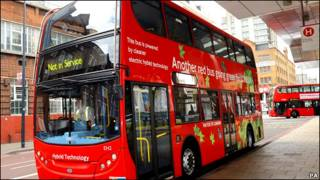 伦敦双层巴士