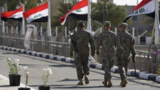အီရတ်ရှိ အမေရိကန်တပ်ဖွဲ့များ